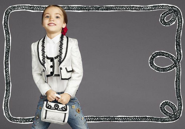 Kindermode-Mädchen-Weste-Jeans-Hemd