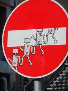CLET » no entry » robots