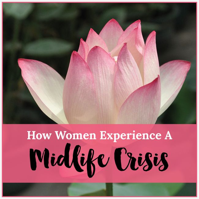 How Women Experience a Midlife Crisis (it's different than men!)