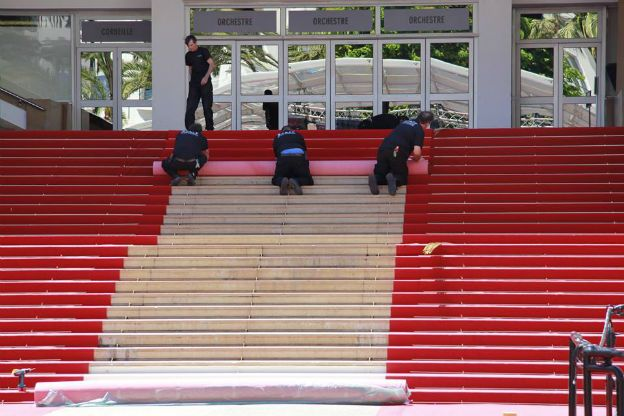 Red Carpet Rolled Today 13-May.2014 for Tomorrow Grand Opening