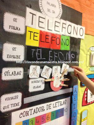 Rincón de una maestra: 4 años