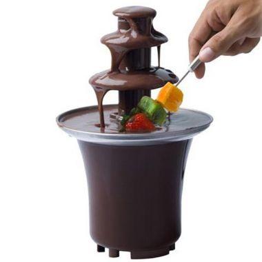 Fontaine de chocolats à partager en famille ! #chocolat