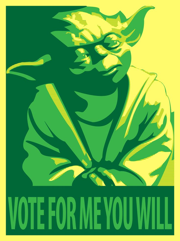 Yoda for President by ~Draikairion via deviantART