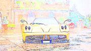 "New artwork for sale! - "" Pagani Huayra Pagani  by PixBreak Art "" - http://ift.tt/2lrPKTL"