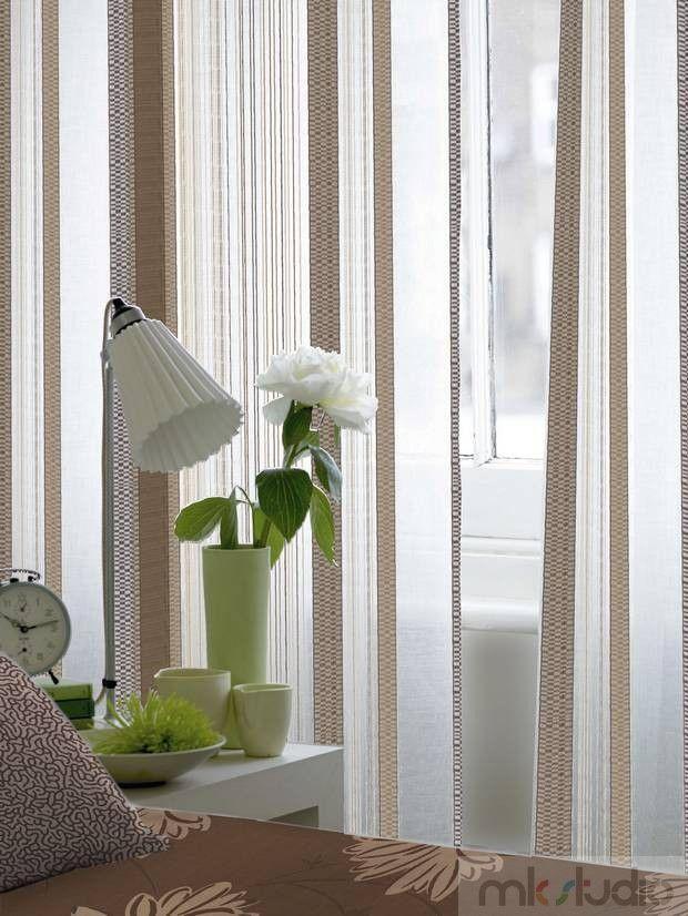#curtains #cream #brown #brąz #wnętrze #salon #dekoracje #dekoracjeokien #interior #wnetrza #zasłony #firany #okno #okna   http://www.mkstudio.waw.pl/inspiracje/