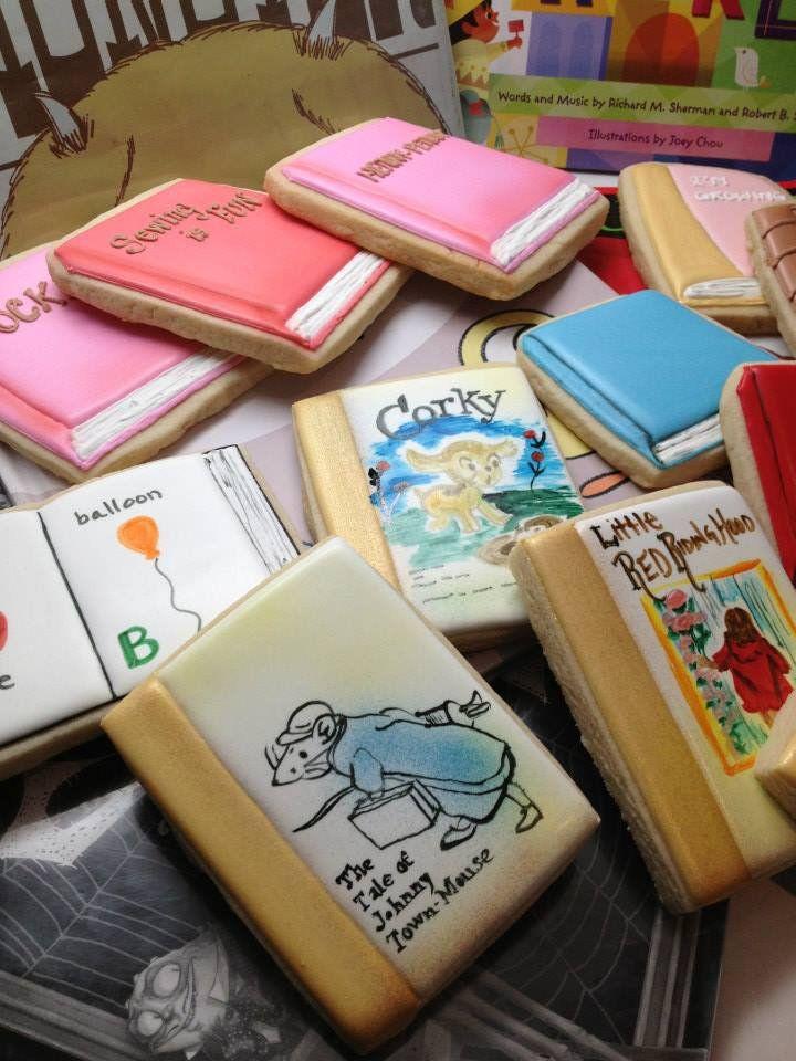 Snickerdoodlesweets Book Cookies Decorated Cookies