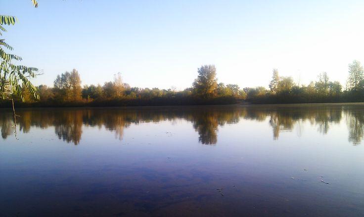 Desenka river. Ukraine.