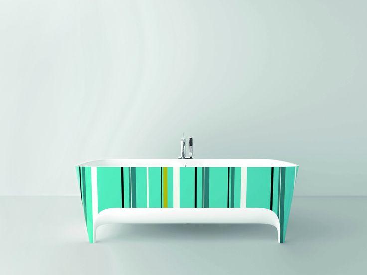 Accademia Pop #bathtub by Carlo Colombo is on New York Times #design #bathroom