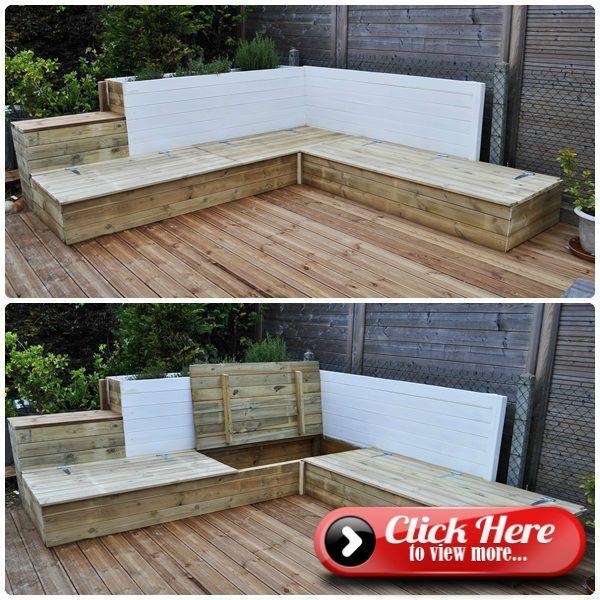Diy Wooden Garden Furniture Part 2 My From The Europallets