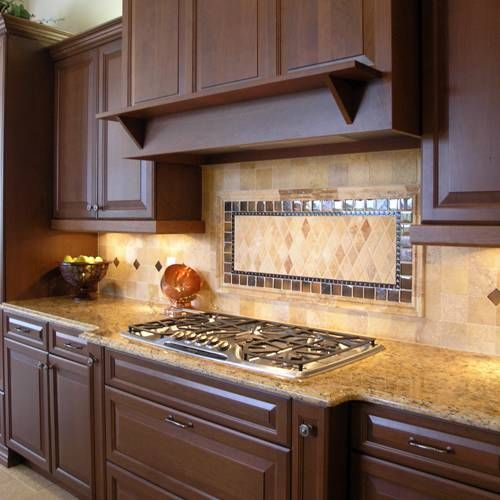 Tile Backsplash Designs For Kitchens 120 best backsplash ideas - pebble and stone tile images on
