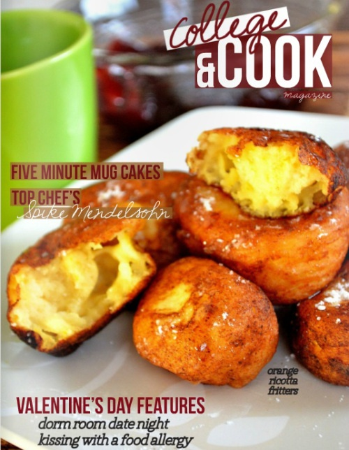 Student Food Magazine College Cook Whips Up Innovative Edible Stories Easy Fun Recipes