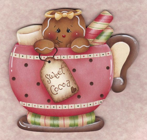 Sweet Cocoa Gingerbread EPattern by GingerbreadCuties on Etsy, $4.00