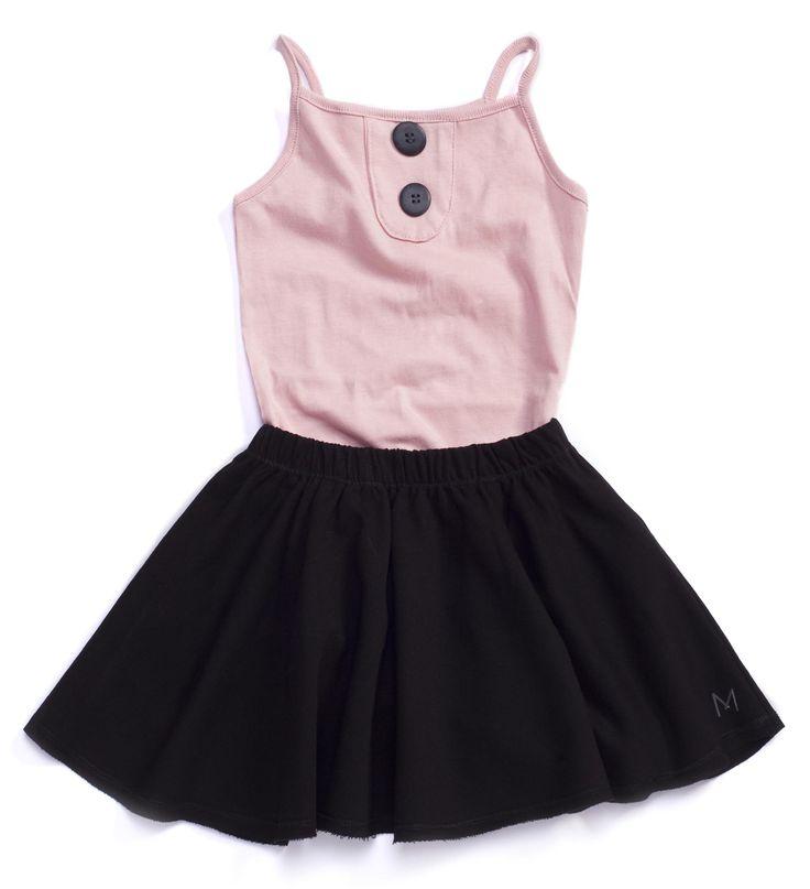 MINIMALIST #Black #Skirt