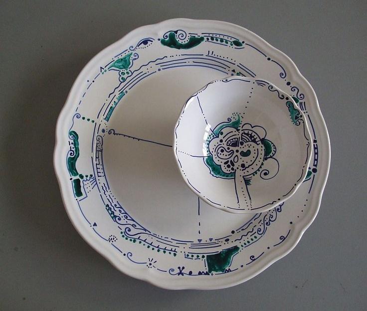 Porcelain graphics by Cicatricks Designs ©