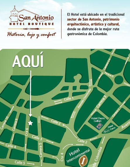 Hotel Boutique San Antonio Cali: Hoteles Ubicados en el Barrio San Antonio En Cali ...