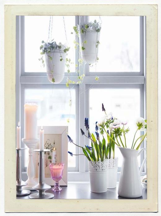 ikea style decorations Arredare con le piante da