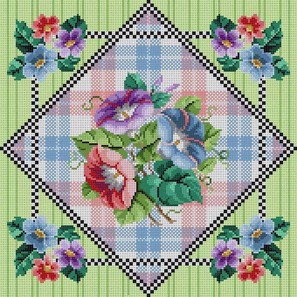 Floral W/ Patterns