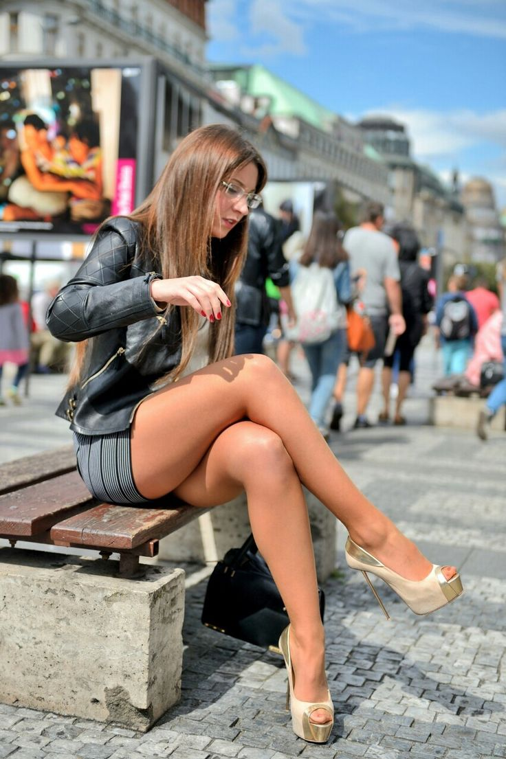 This Mini skirt legs pantyhose