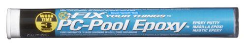 Pc Products Pc-Pool Moldable Epoxy Putty, 4 Oz Stick, Off-White, 2015 Amazon Top Rated Tile Epoxy Adhesives #BISS
