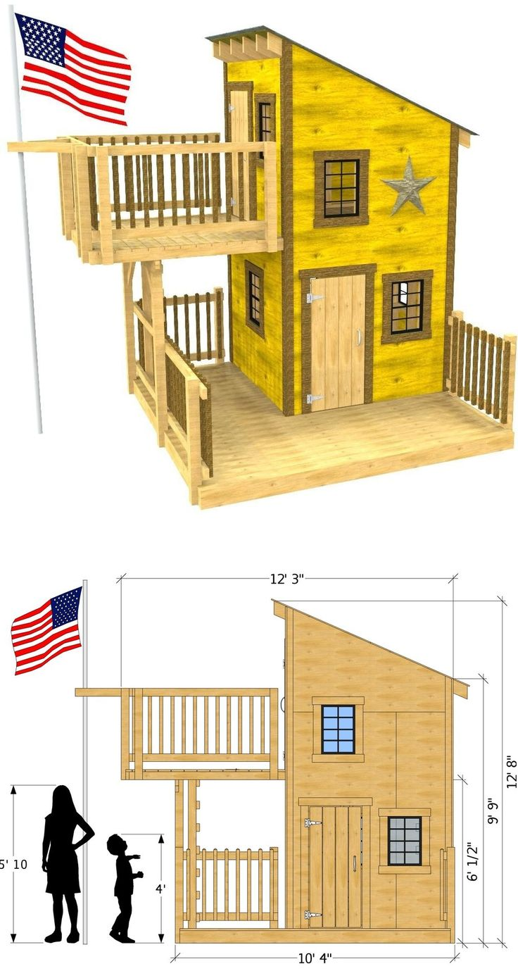 How to build an indoor tree house play loft and drill into the studs - Deluxe Loft Clubhouse Plan Trap Doorclubhousesplay Areastree Housesthe