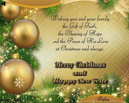Doc600370 Christmas Wishes Samples Christmas Card Messages – Christmas Wishes Sample