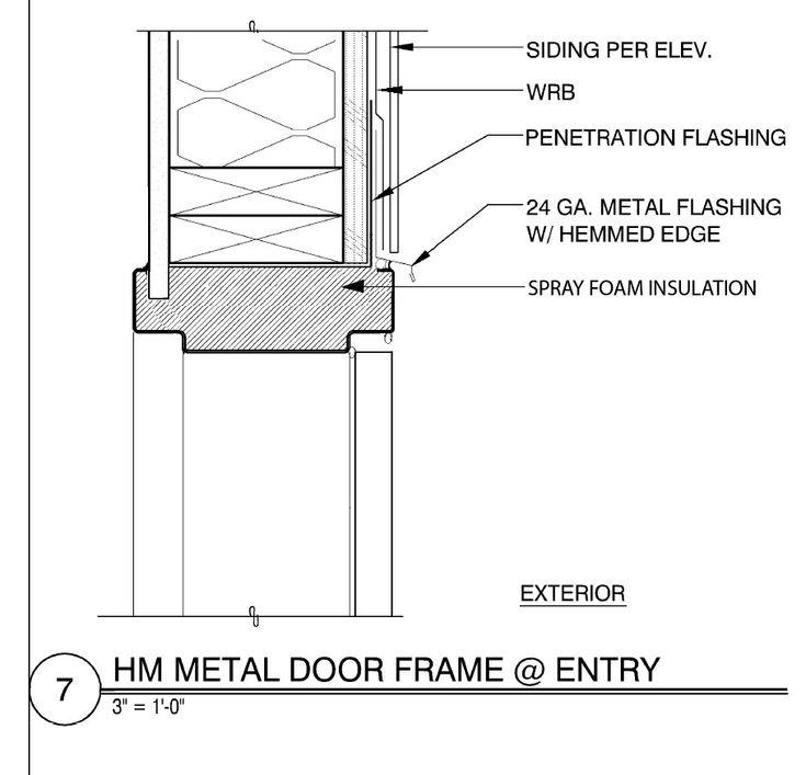 Exterior Hollow Metal Door Frame