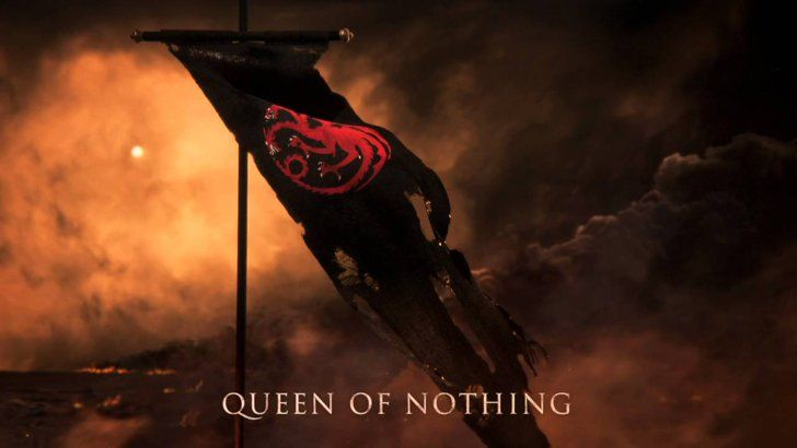 """Pin for Later: The Latest Game of Thrones Teaser Makes Jon Snow's Fate Even More Confusing """"Targaryen Battle Banner"""""""