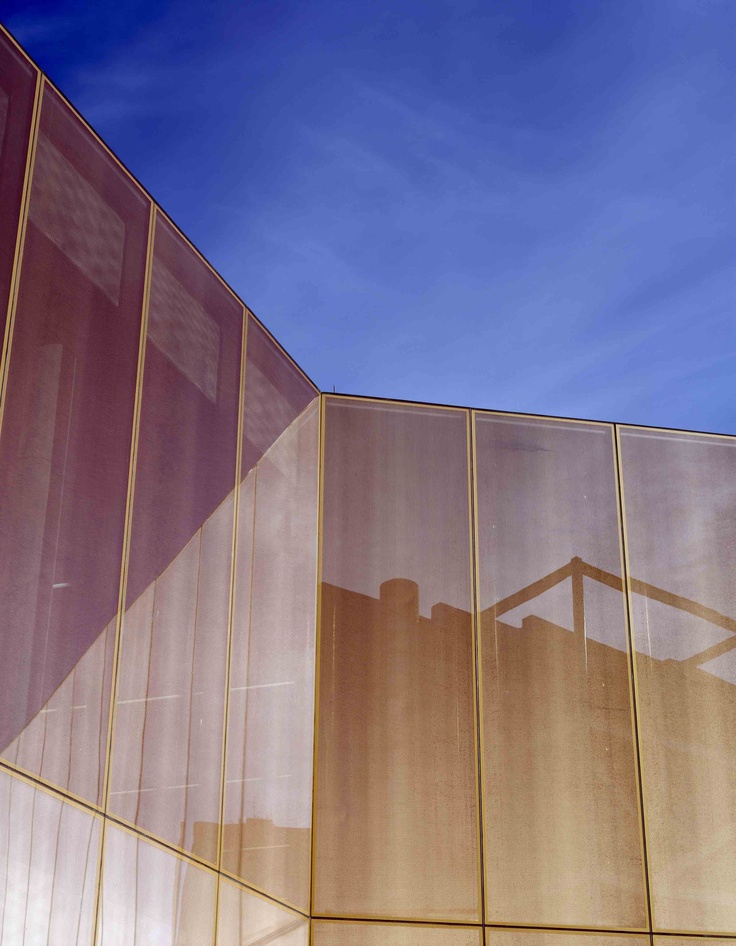 Public Library in Des Moines - OKATECH with expanded copper inlay from OKALUX ©Paul Raftery