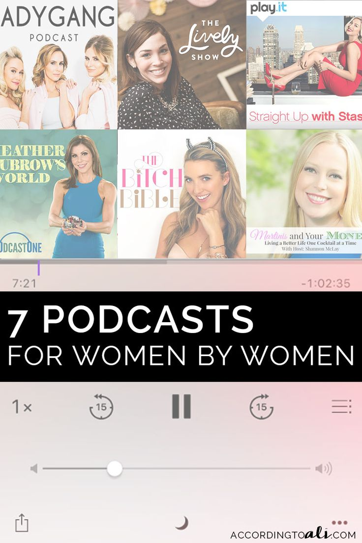 7 Funny, Inspiring & Entertaining Podcasts for Women by Women - According to Ali | Personal Lifestyle Blog