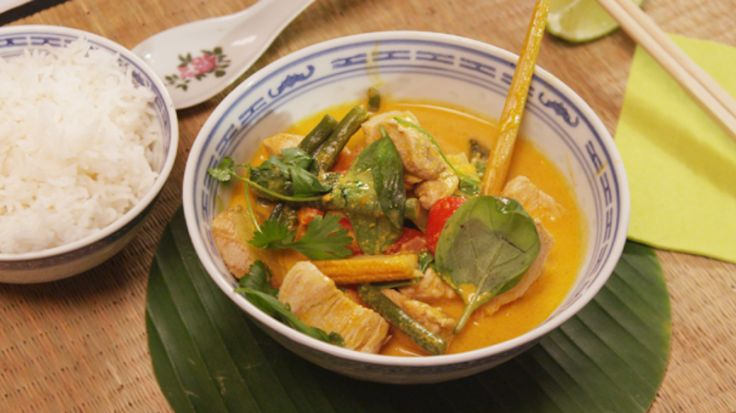 Thaise rode curry met kip | VTM Koken