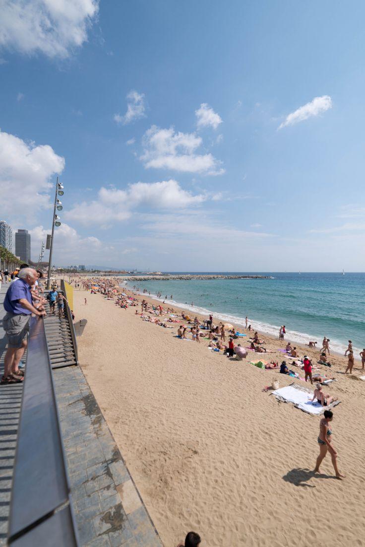 Traveler Nick: Barcelona beach