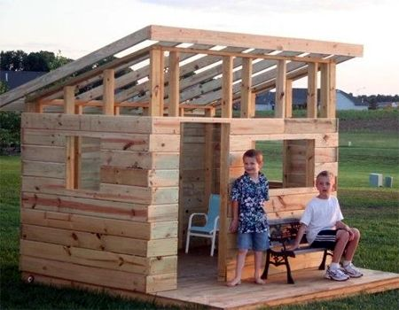 Home-Dzine - Build an outdoor fort