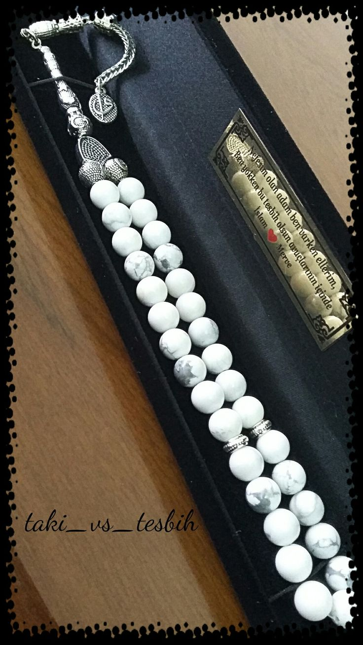 El yapımı havlit tasarım tesbih... handmade beads...doğaltaş tesbih