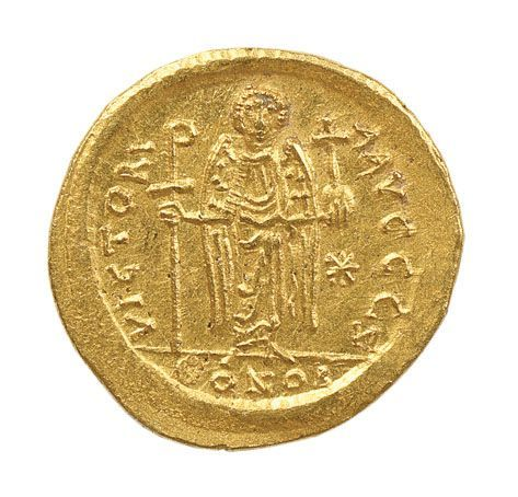 Σόλιδος Ιουστινιανού Α΄ (00619) - Βυζαντινό και Χριστιανικό Μουσείο