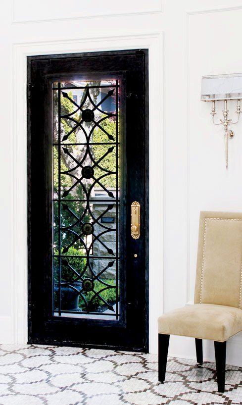 Black doorDecor, Ideas, The Doors, Entry Doors, Black Doors, Black Front Doors, Beautiful Doors, Mosaics Tile, Glasses Doors