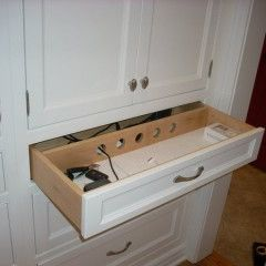 Charging Stations Drawers And Kitchens On Pinterest