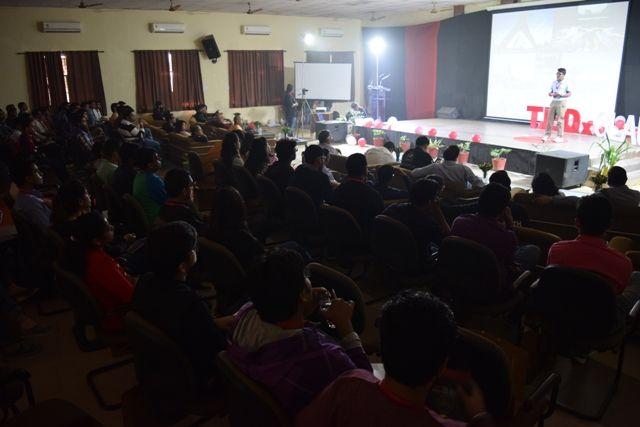 TedX Event organized at GLA in the presence of Shri Gaur Gopal Prabhu. #TedX #GLAUniversity #LifeAtGLA