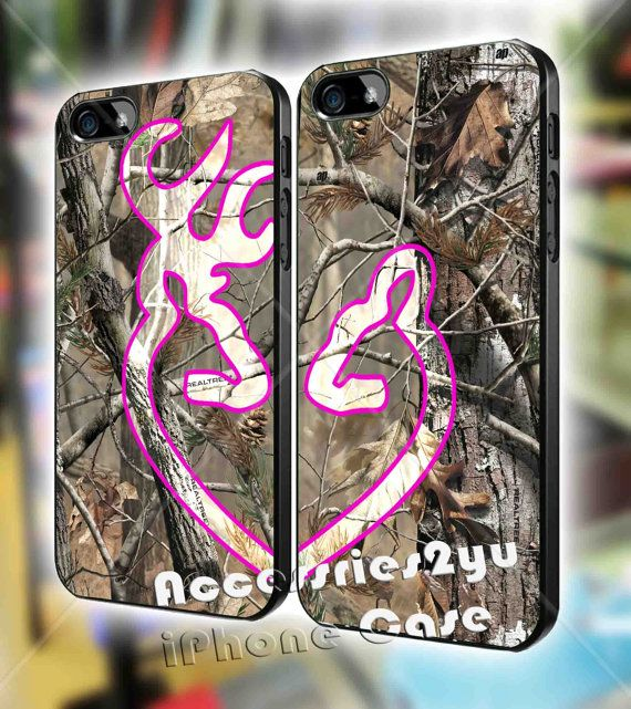 Love Browning Deer Camo Real Tree Love Couple Design iPhone 4, iPhone 4s, iPhone 5 / 5s / 5c, Samsung Galaxy S3, Sasmsung Galaxy S4 Case on Etsy, $30.00