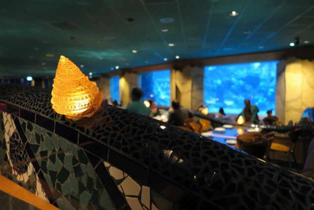 Good Food, Good Karma.   Coral Reef- Walt Disney World, Florida.