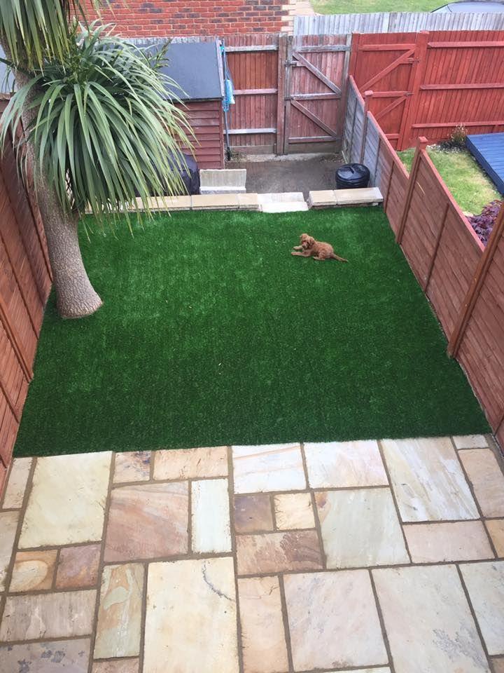 Unique Patio Ideas and Small Garden designs with Artificial Grass