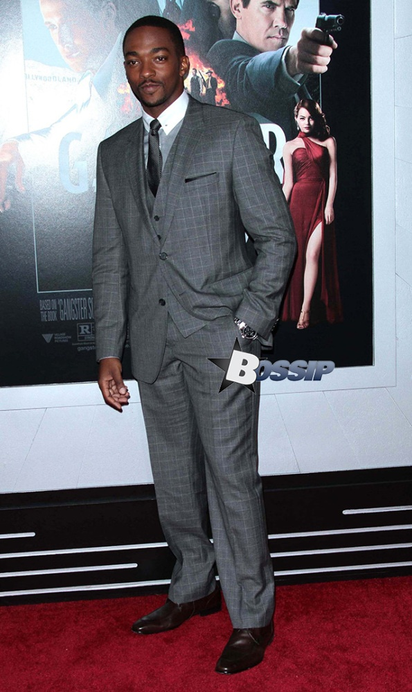 Premiere of 'Gangster Squad' - Actor Anthony Mackie