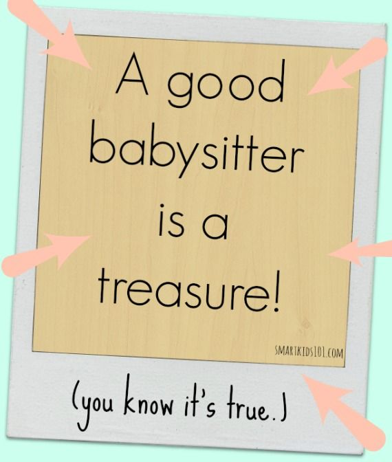 35 best Great Babysitter A How-to Guide images on Pinterest - babysitting on a resume