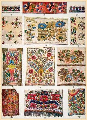 Greek embroidery patterns