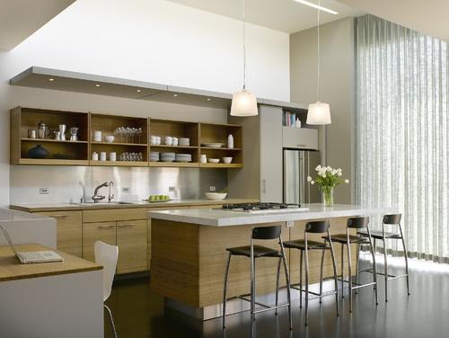 Park Street - modern - kitchen - san francisco - Ken Gutmaker Architectural Photography