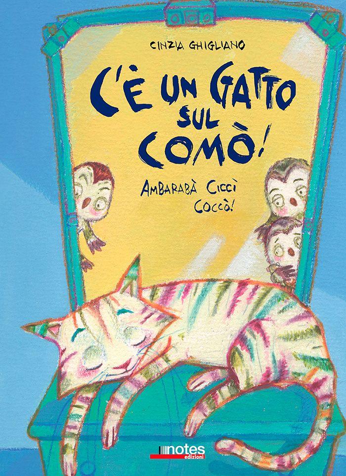 """""""C'è un gatto sul comò!"""" di #CinziaGhigliano."""