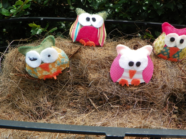 2 1/2  x 3 stuffed owls made from felt card stock by HannahsRoom, $2.752 75, 1 2, 275, Cards Stockings, Card Stock, Stuffed Owls, Hannahsroom, Felt Cards