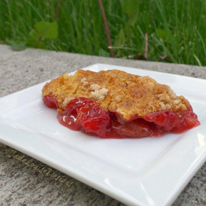 Rhubarb Dump Cake Recipe Strawberry Jello