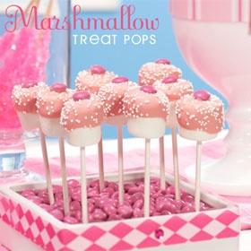 marshmallow : petit champignon