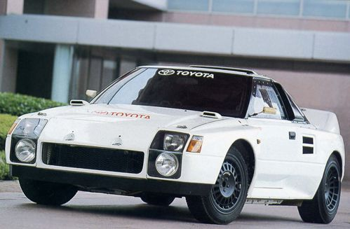 Group S Toyota MR2
