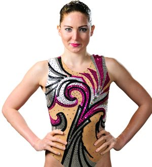 Olivia Federici - Synchronised Swimming. Duet.